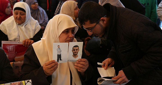 Tens of families from Gaza visit their relatives in Israeli prison