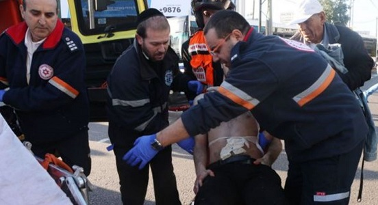 Four Israelis injured in Tel Aviv stabbing