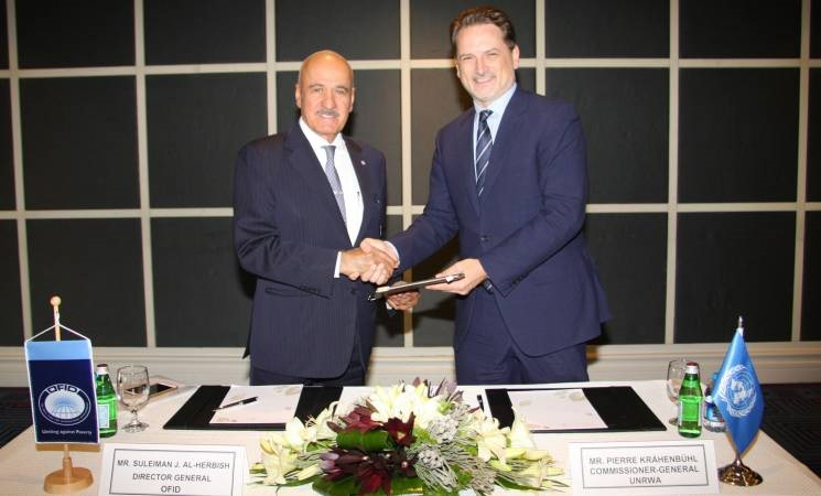 OFID and UNRWA Sign US$1 Million Grant to Support Quality Education in Jerusalem