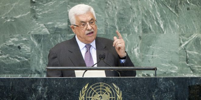 Op. Abbas' Message to the UN, and to Trump: Recognize Palestine. End Our People's Captivity