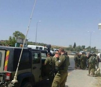 Palestinian teen shot, critically wounded after carrying out car ramming attack