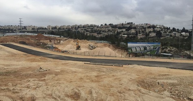Israeli forces bulldoze Palestinian lands to expand Salfit settlements
