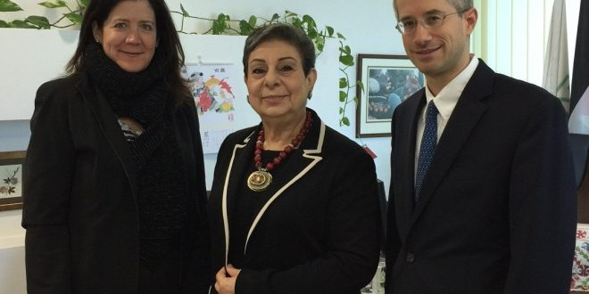 Ashrawi concludes official trip to United Nations