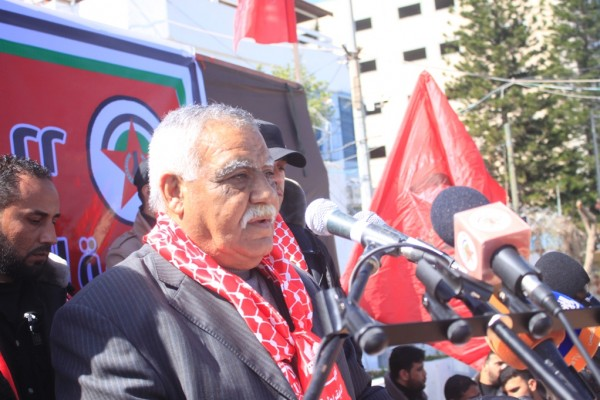 Nasser denounces the suppression of the peace march in the West Bank