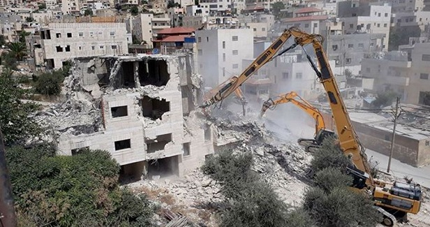 As Palestinian homes being demolished Jewish school to be built near al-Aqsa