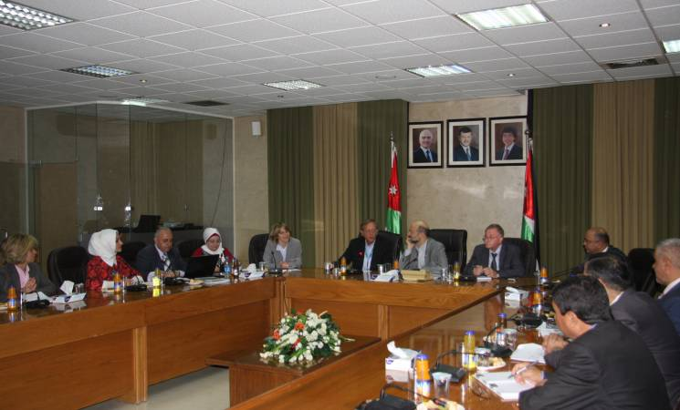 UNRWA and Jordan's Ministry of Education Hold Joint Workshop under the Patronage of Minister of Education