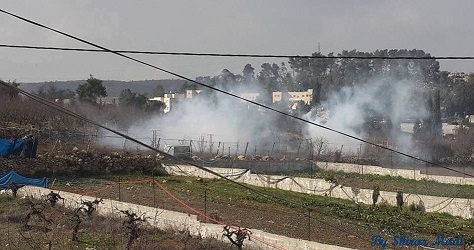 Clashes flare in Arroub camp as Israeli soldiers attack schoolchildren