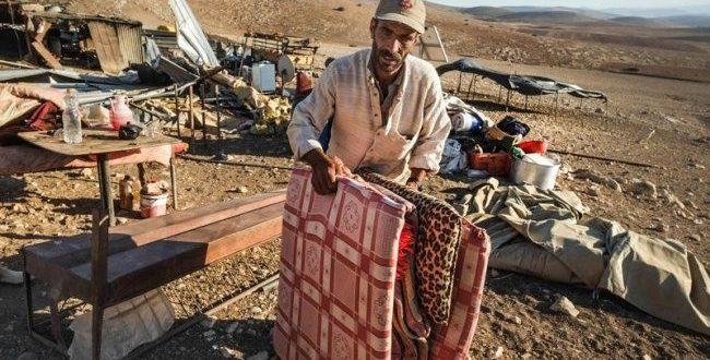 Jordan Valley: IOF temporarily evict 21 families for military drills