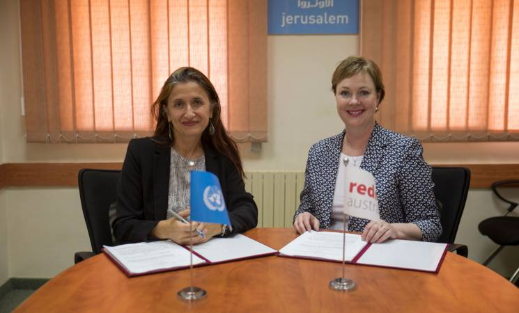 UNRWA Partners with RedR Australia to Support Emergency Responses through the Deployment of Humanitarian Experts