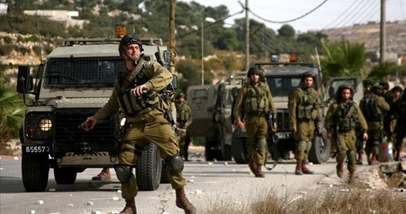 Clashes, arrests as Israeli army rolls into West Bank