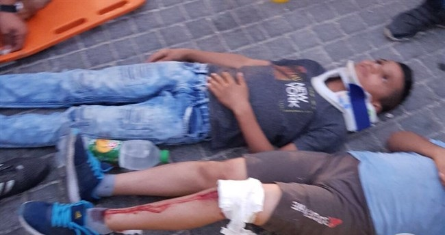 4 Palestinian kids injured after jumping from car in contested incident with Israeli