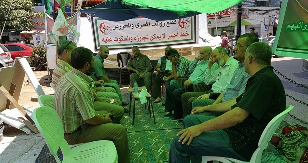 Ex-detainees on hunger strike for 12th day to protest halted salaries