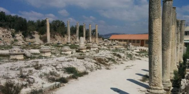 Settlers storm archaeological site in Sebastia, northern West Bank