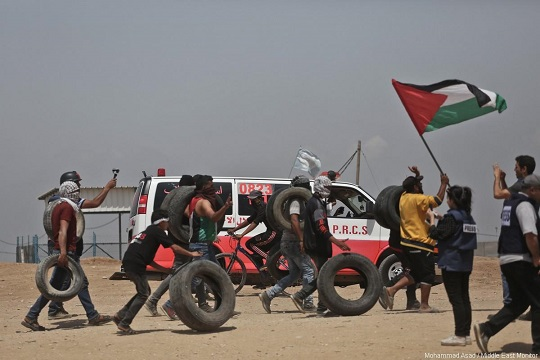 Palestinians in Israel go on strike in support of Gaza
