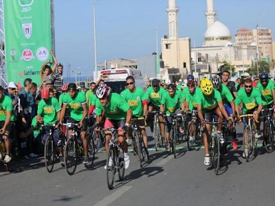 Gaza Marathon Attracts Runners, Cyclists, Paralympic Athletes