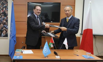 Japan Contributes US$ 28.4 Million to UNRWA in Support of Palestine Refugees