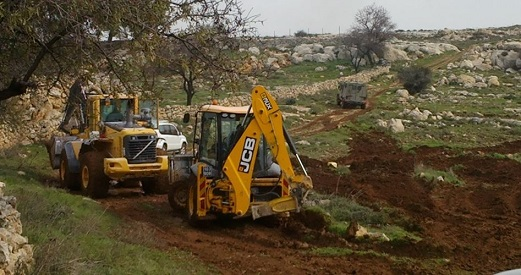 Israelis bulldoze Palestinian lands to expand settlements in Salfit