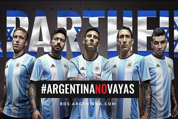 BDS Calls on Argentina to Cancel Football Game in Israel