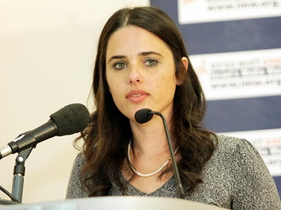 Justice Minister Shaked Changing Israel Court's Ruling on Settlements