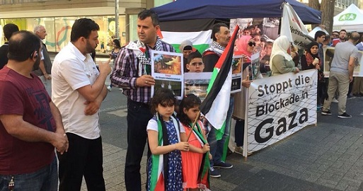 European campaign concludes a solidarity day with Gaza, Prisoners