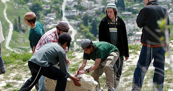 Armed settlers assault Palestinian farmers south of al-Khalil