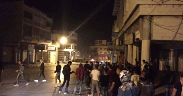 Overnight clashes with Israeli soldiers in Nablus city