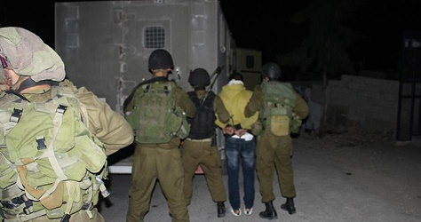 IOF kidnaps Palestinian young man south of Bethlehem