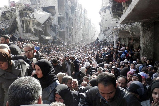 Palestinian refugees face further displacement in Syria