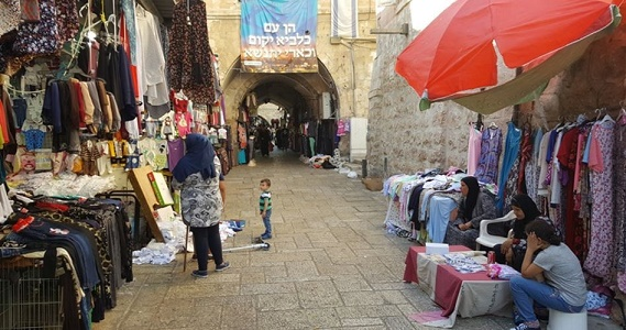 Al-Khawjat market targeted by Judaization