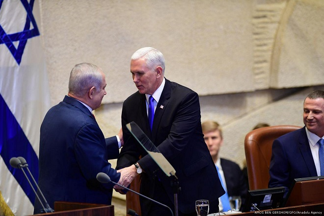 Human Rights Watch: Pence ignored 'entrenched discrimination' against Palestinians