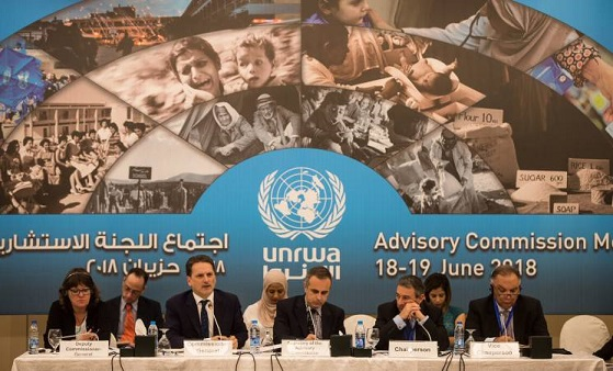 Advisory Commission meets to discuss global support for UNRWA amid unprecedented financial crisis.
