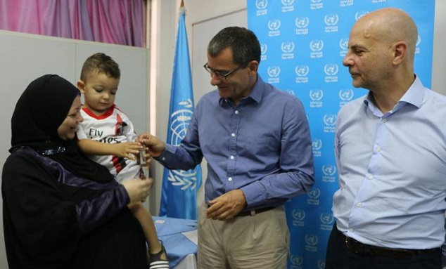 UNRWA and Germany Hand over Newly-built Houses and Commercial Units in Nahr el-Bared Camp