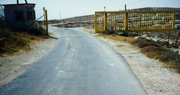 IOF sets up new iron gate south of Tubas