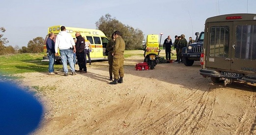 Three Israeli soldiers wounded in explosion southeast of Gaza