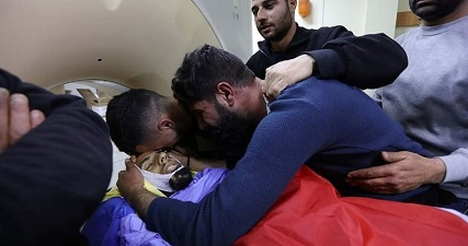 General strike in Bethlehem in mourning for martyr Ahmed Manasera