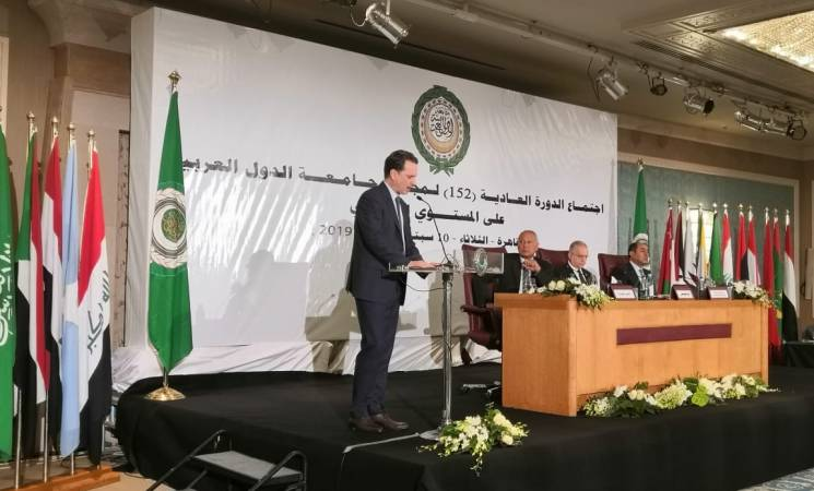 UNRWA Commissioner-General Calls for Urgent Political and Financial Support at the Arab League Summit