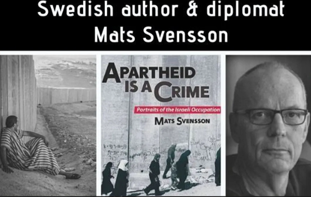 'Apartheid is a Crime': Former Swedish Diplomat Speaks about His Experiences in Occupied Palestine