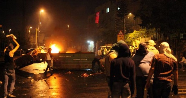 8 Palestinians injured in clashes with IOF in Nablus