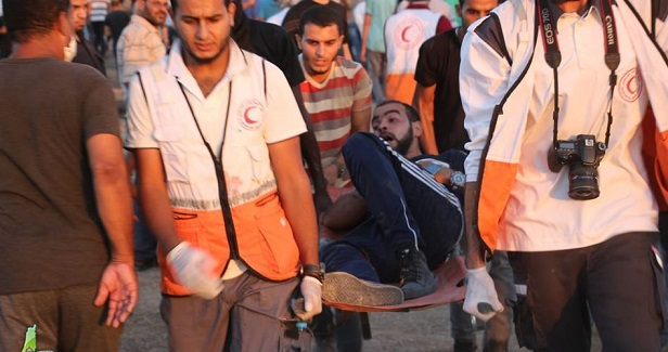 Five citizens injured by Israeli gunfire north of Gaza