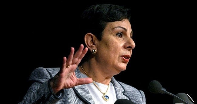 Ashrawi applauds German's stance against illegal Israeli settlements