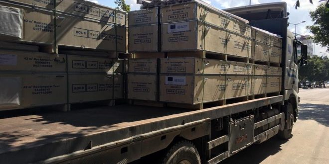 WHO delivers medical supplies to scale up pre-hospital trauma care in Gaza