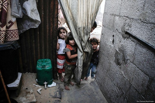 53% of Gaza residents live in poverty