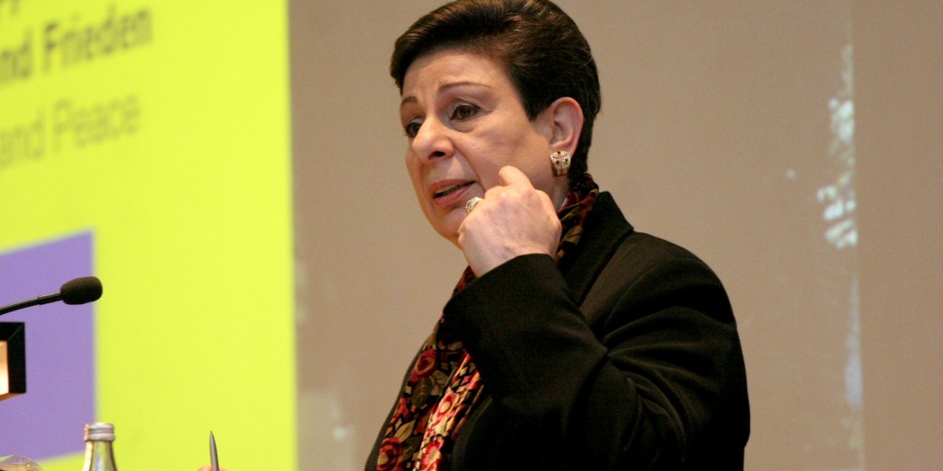 Ashrawi: International Sanctions are required to confront escalating Israeli settlement construction