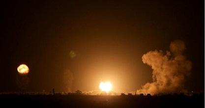 Dawn air raids rock Gaza, resistance responds