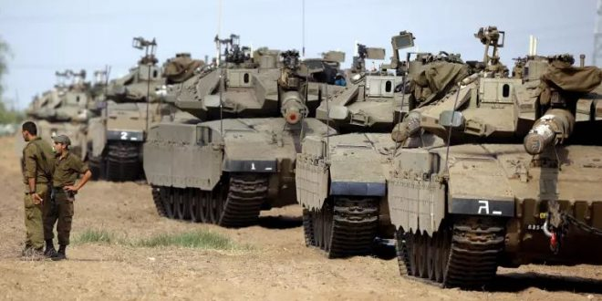 IOF SENDS BRIGADES, RECRUITS RESERVE FORCES TO GAZA BORDER