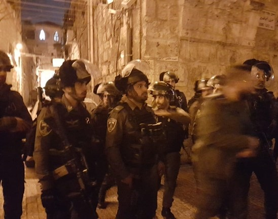 Israeli forces assault Palestinian worshipers at Al-Aqsa