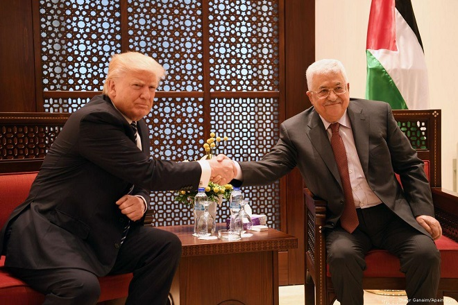 Abbas accepts return of US to broker peace process