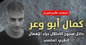 Cancer-stricken prisoner Kamal Abu Wa'er dies in Israeli jails