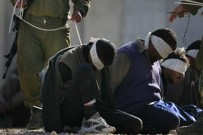 Israel army admits blindfolding Palestinians against protocol