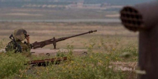 IOF open fire at a site they claim belongs to Al-Qassam Brigades